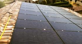 impianto fotovoltaico a Magione - Perugia