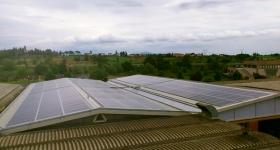 Monte San Savino (AR): impianto fotovoltaico progettato da Greentech