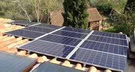 Impianto fotovoltaico nel comune di Panicale - Perugia