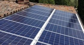 impianto fotovoltaico installato in loc. Pozzuolo (PG), sviluppa 12 kWp