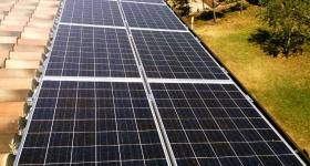 impianto fotovoltaico installato in abitazione in loc. San Feliciano - Magione (PG)