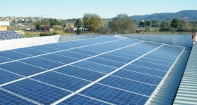 impianto fotovoltaico in loc. Soccorso - Magione (PG)