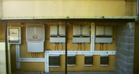impianto fotovoltaico progettato da Greentech in loc. Soccorso - Magione (PG)