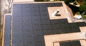 Impianto fotovoltaico installato in loc. Sole Pineta - Magione (PG)