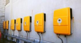 centralina impianto fotovoltaico installato a Torgiano (PG)