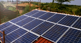 Castiglione del lago (PG): impianto fotovoltaico installato in abitazione